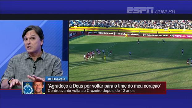 Mauro comenta declarações de amor de Fred ao Cruzeiro