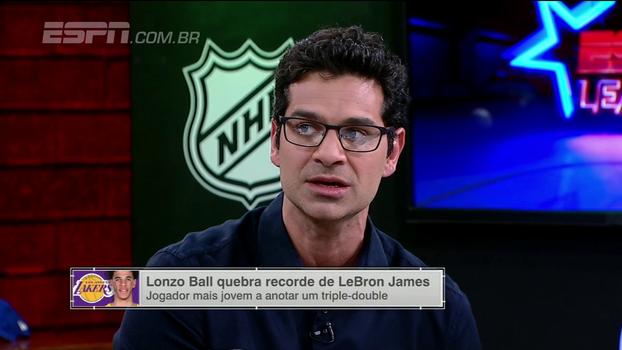 Para Paulo Antunes, Lonzo Ball ainda vai conseguir muitos triple-doubles na temporada: 'Tem uma visão de quadra sensacional'