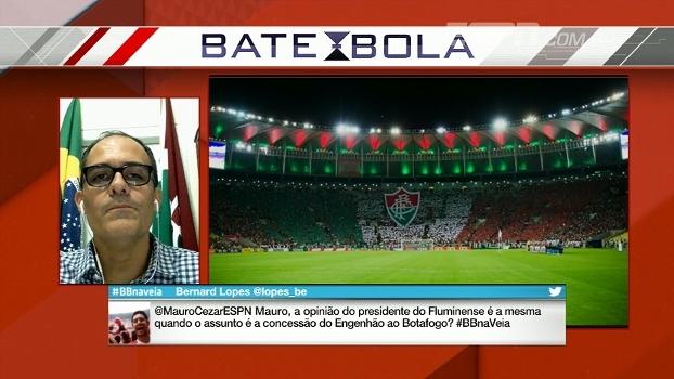 Presidente do Flu sugere menos clássicos no Carioca e vê Taça Rio um 'pouco desvalorizada'