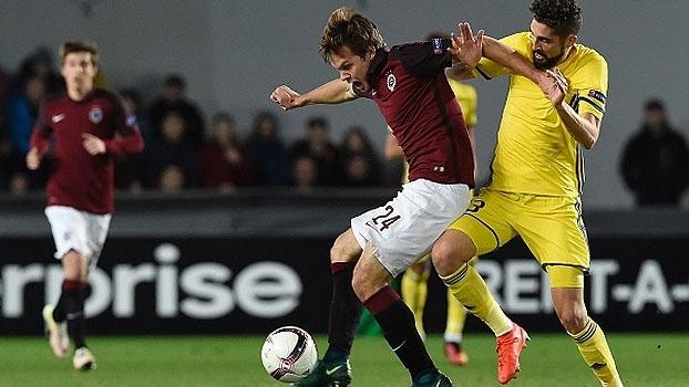 Sparta Praga busca empate com golaço, mas é eliminado pelo Rostov