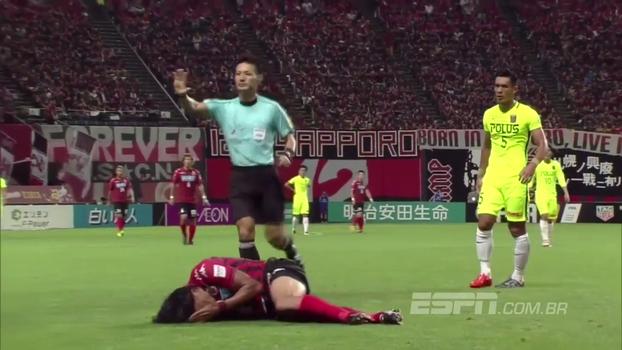 Assista aos gols da vitória do Consadole Sapporo sobre o Urawa Red Diamonds por 2 a 0