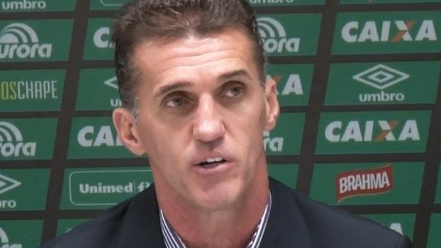 Mancini admite que começo na Chape pode ser difícil, mas se diz motivado para reconstrução