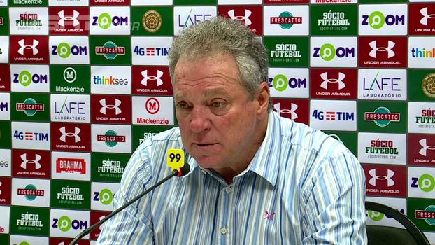 Abel fala sobre contato com Palmeiras e deixa futuro no Flu nas mãos de presidente