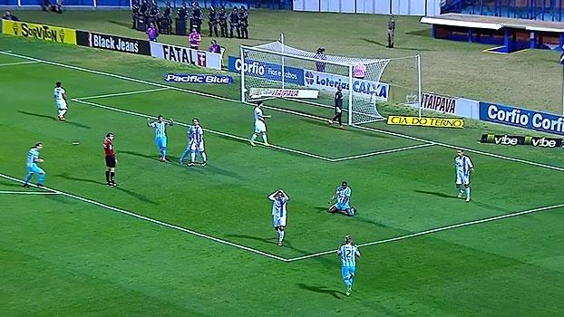 Série B: Gols de Avaí 2 x 0 Paysandu