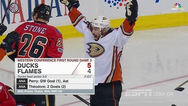 Com viradas, Ducks e Predators vencem nos playoffs da NHL