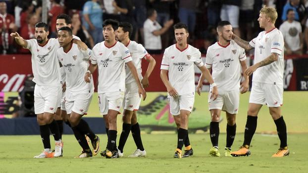 Assista aos melhores momentos do empate entre Sevilla e Espanyol por 1 a 1!
