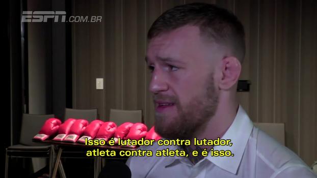 McGregor nega racismo contra Mayweather: 'Se fosse rotulá-lo de um animal, seria o rato'