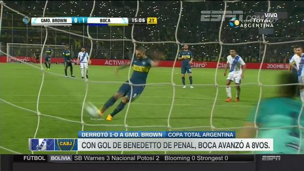 Confira os melhores momentos de Guillermo Brown 0 x 1 Boca Juniors