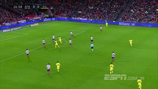 Assista aos gols do empate entre Athletic Bilbao e Villarreal em 1 a 1!