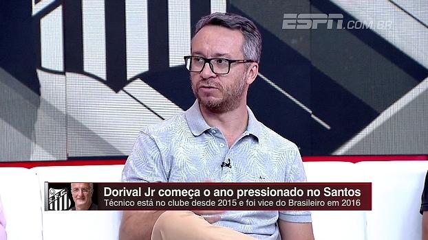 Maurício Barros pede calma com o Santos: 'Em breve vai estar muito melhor do que vem jogando'