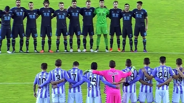 Com homenagem à Chape, Real Sociedad vence Valladolid e abre vantagem na Copa do Rei