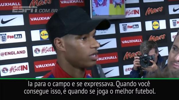 Rashford também é fã de um craque brasileiro: 'Quando criança, via muitos vídeos do Ronaldo'