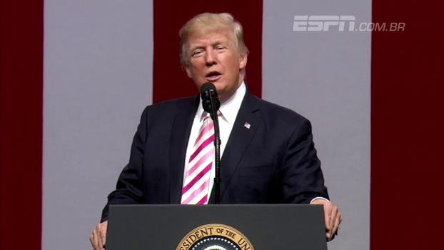 Quando política e esporte se misturam: fim de semana nos EUA foi marcado por polêmica com Trump dentro e fora dos campos