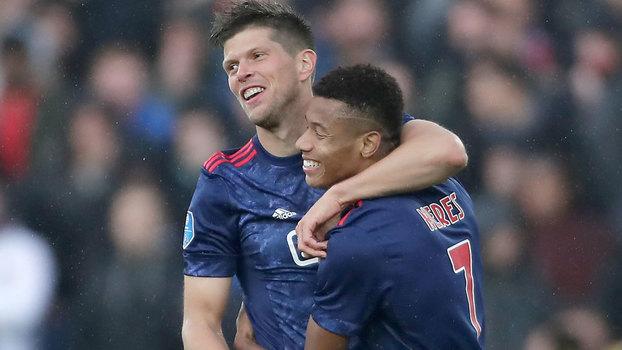 Veja os gols da vitória do Ajax sobre o Feyenoord por 4 a 1