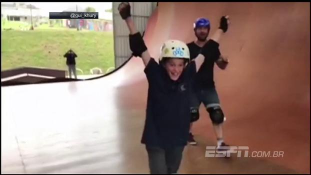 Absurdo! Brasileiro de 8 anos acerta manobra que só 16 atletas no mundo conseguem