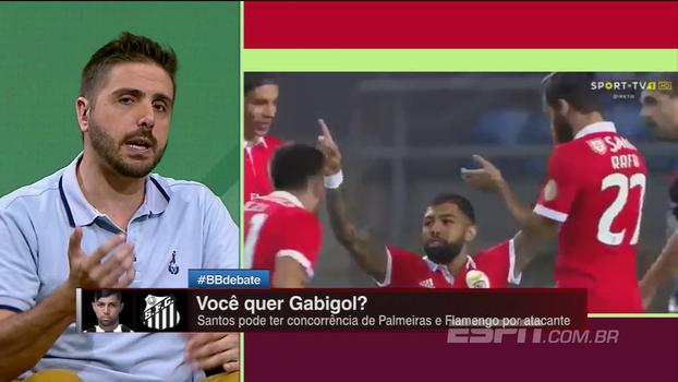 Nicola: 'Gabigol estará no futebol brasileiro em 2018'