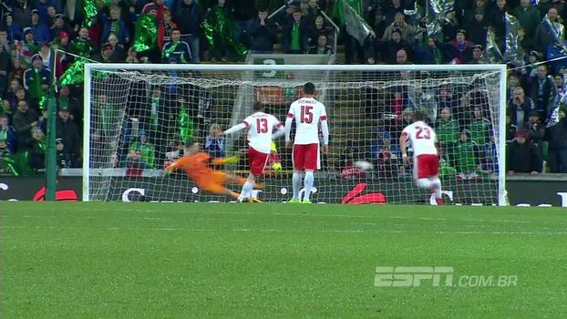 Confira os melhores momentos de Irlanda do Norte 0 x 1 Suíça