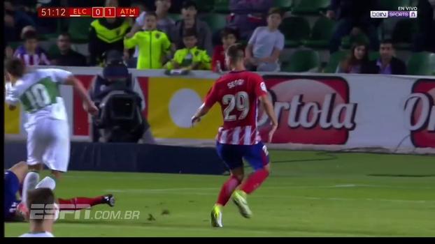 Veja os gols de Elche 1 x 1 Atlético de Madri