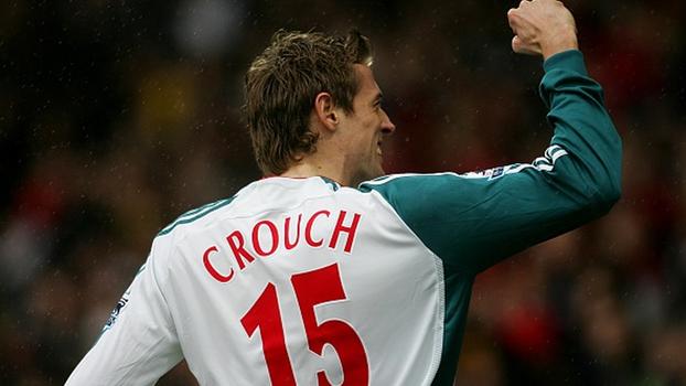Bellamy abriu o placar, Crouch fez dois, e Liverpool venceu Watford fora de casa em 2007