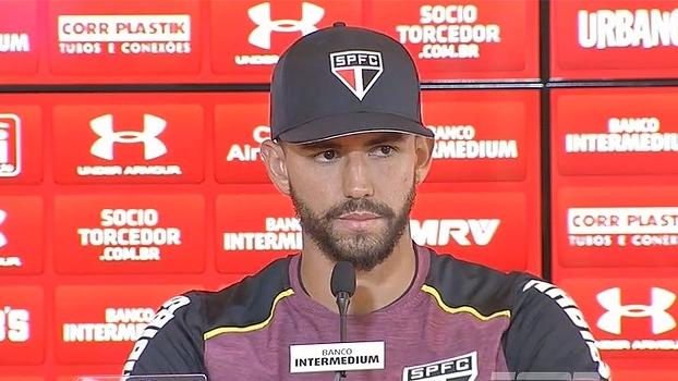 Renan Ribeiro já fala sobre o clássico contra o Palmeiras e não acredita em 'favoritismo'