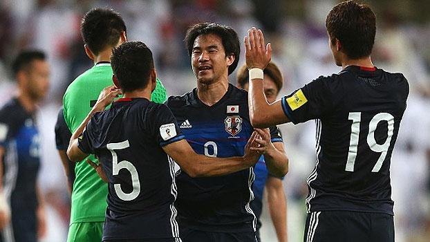 Japão vence Emirados Árabes e encosta na briga pela ponta no grupo B