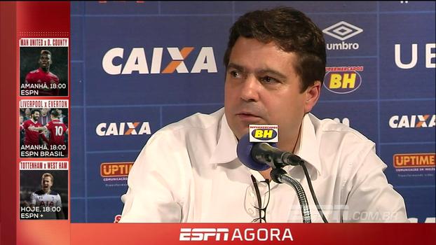 Vice do Cruzeiro explica contratações mesmo com salários atrasados