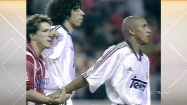Com muita ginga, Juninho Paulista definiu a vitória do Atlético de Madri sobre o Real em 1999; relembre