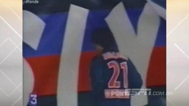 Com direito a 'sambadinha', Ronaldinho Gaúcho fez dois e PSG bateu Guingamp na Copa da Liga de 2001