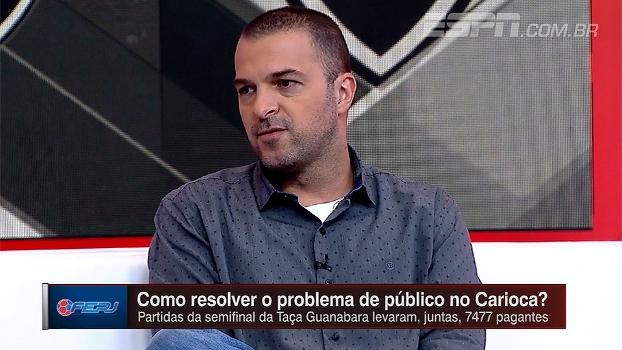 Para Zé Elias, clubes cariocas não se prepararam para lidar com situação atual do Maracanã