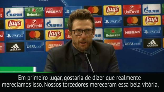 Após passeio contra o Chelsea, técnico da Roma diz: 'Provamos que podemos jogar contra qualquer time'