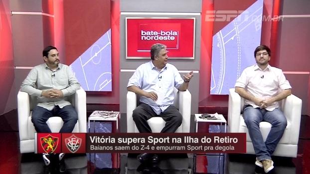 'Se não fosse o Magrão', comentaristas do BB Nordeste analisam derrota do Sport para o Vitória