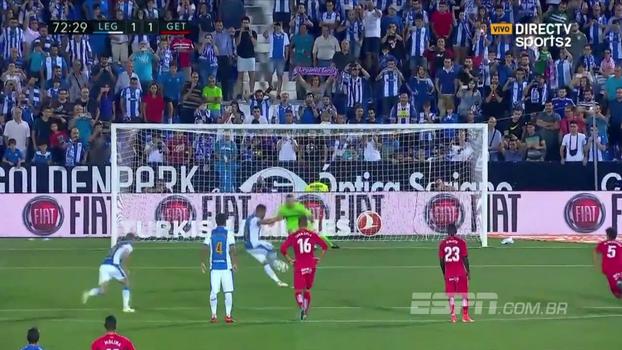 Assista aos gols da vitória do Getafe sobre o Leganés por 2 a 1!