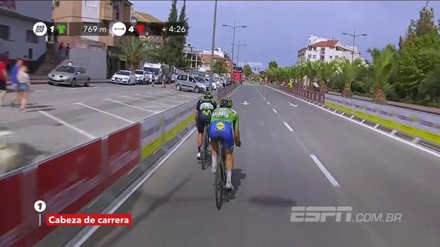 Com ultrapassagem no fim, Matteo Trentin vence 10ª etapa da Volta da Espanha