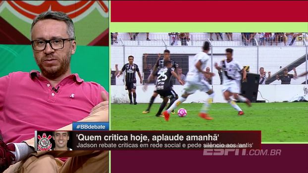 Falta cobrança no Corinthians? Jadson está devendo? BB Debate analisa