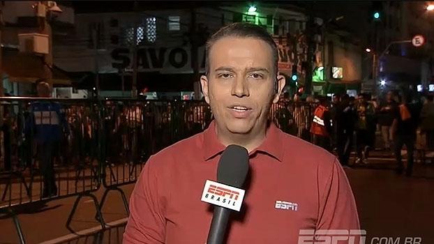 Edu de Meneses informa: 'Borja teve melhora e a tendência é que ele vá para o jogo'