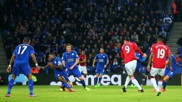 Premier League: Gols de Leicester 0 x 3 Manchester United