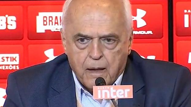 Leco: 'A diretoria não tem nenhuma responsabilidade; tivemos a coragem de contratar o Rogério'