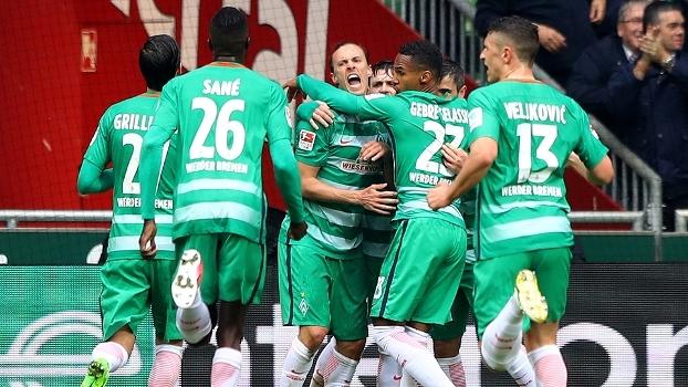 Hamburgo sai na frente, mas Werder Bremen vira e se aproxima da zona da Liga Europa