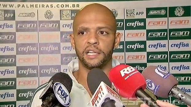 Felipe Melo destaca entrega e desabafa: 'Vocês querem o cara verdadeiro ou mimimi?'