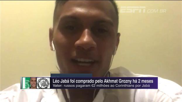 Estreia com gol, língua e 'susto'; Léo Jaba fala sobre adaptação ao futebol russo