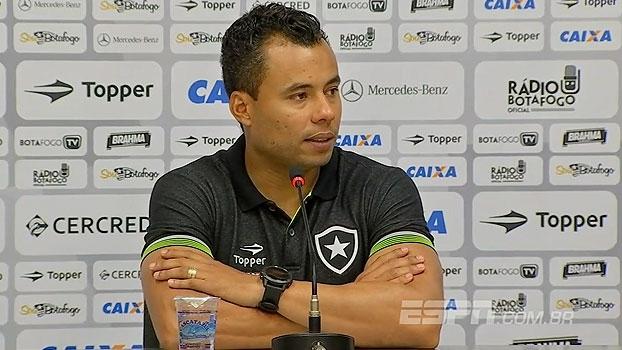 Jair cita planejamento do Botafogo, mas garante: 'Não abrimos mão do Carioca'
