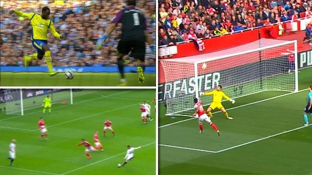 Chutaço de Özil, arrancada de Lukaku e mais: veja os golaços da rodada na Premier League