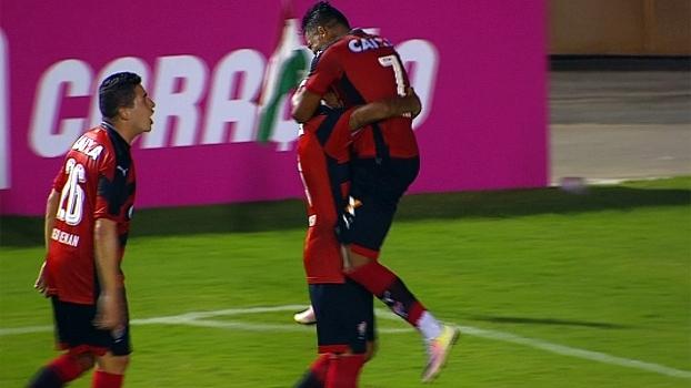 Brasileiro: Gols de Vitória 3 x 1 Coritiba