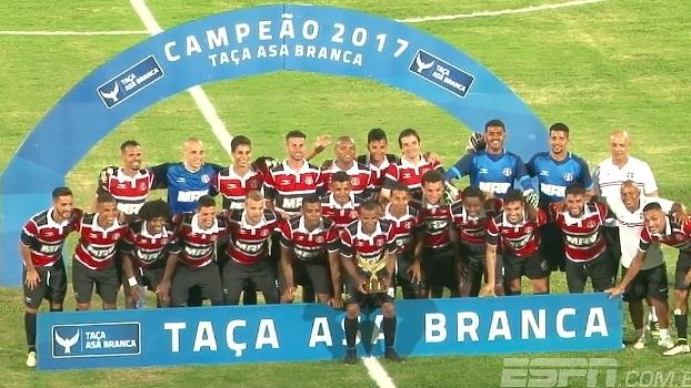 Santa Cruz vence o Paysandu por 1 x 0 e conquista Taça Asa Branca