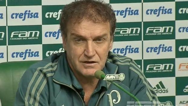 Matemática, bom momento a vir e jogadores a estrear: Cuca fala sobre luta pelo título do Brasileiro