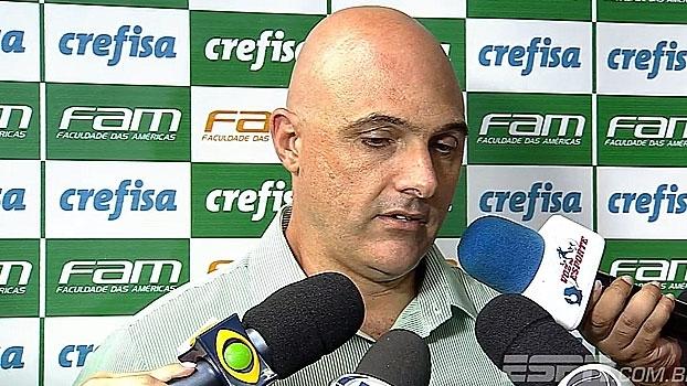 Presidente do Palmeiras comenta emoção de amistoso com Chapecoense e exalta gol de Vitinho
