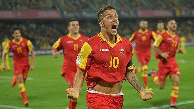 Assista aos gols do empate entre Romênia e Montenegro em 1 a 1!
