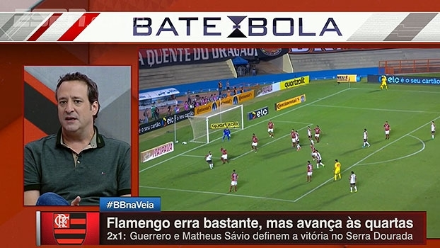 'Eliminação para Atlético-GO seria mais vexatória que Libertadores', diz Gian sobre Flamengo
