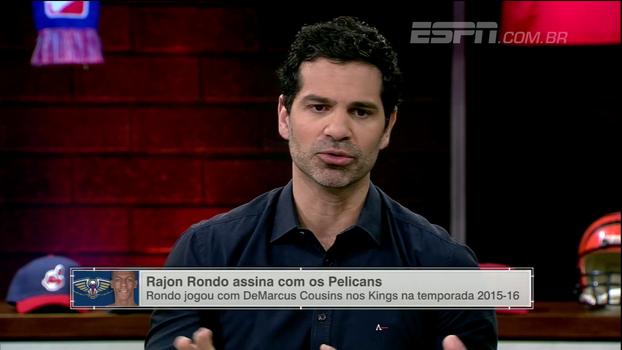 Paulo Antunes cita 'ambiente tóxico' com Rondo em New Orleans, mas acredita em sucesso do armador
