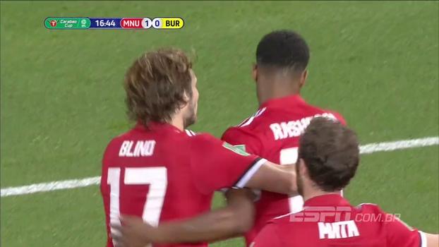 Copa da Liga Inglesa: Gols de Manchester United 4 x 1 Burton Albion